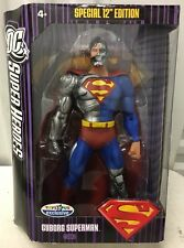 DC FIGURE MATTEL SUPER HEROES New Sealed CYBORG SUPERMAN TRU EXCLUSIVE 12""