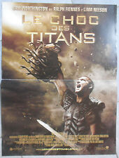 Affiche LE CHOC DES TITANS Clash of the titans LIAM NEESON Worthington 40x60cm