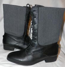 BB DAKOTA STEVIE BLACK MID-CALF BOOTS Sz. 9 US / 39 EUR