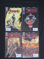 Zombie Simon Garth  #1-4 set Marvel comics full run MAX comics NM