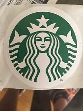 starbucks stickers x1 3""