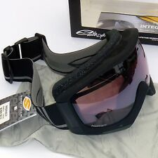 Smith Prophecy Goggles-Black Foundation/Ignitor Mirror Lens -Eyeglass Compatible