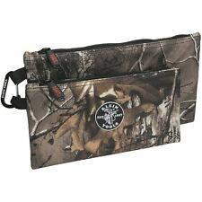 Klein Tools 55560 Realtree® Xrta Camo Zipper Bags, 2-Pack