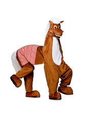 Panto 2 Man Deluxe Pantomime Horse Christmas Fancy Dress Mascot Animal Costume