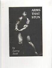 Larry Scott Arms That Stun ORIGINAL Bodybuilding Muscle Bodybuilder Course