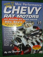 How to Build Max Performance Chevy Rat Motors Hot Rod Big Block Engines MANUAL