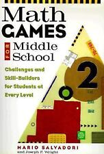 Math Games for Middle School : Challenges and Skill-Builders for Students at Ev…