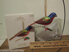 Hallmark 2012 Painted Bunting The Beauty of Birds #8 In Series