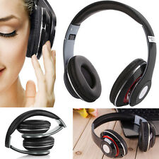 TM-010S Wireless Bluetooth Headphone/headset with Mic Handfree Call FM TF Music