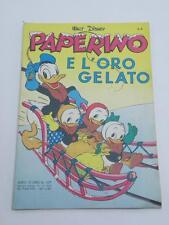 ALBO D'ORO 107 1953 PAPERINO E L'ORO GELATO Walt Disney fumetto