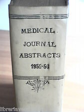 MEDICAL JOURNAL ABSTRACTS 1955 56 In italiano Raccolta di vari numeri Medicina