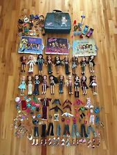 Lot of 19 Bratz Dolls in Complete Outfits + Clothing, Shoes, Accessories & Case