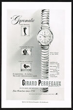 1950's Vintage Girard Perregaux Gyromatic Watch - Paper Photo Print AD b