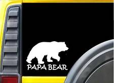 Papa Bear K308 6 inch decal grizzly sticker