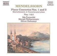 Klavierkonzerte - Cernecka,Ida/Dohnanyi,Oliver/Slovak PO - Mendelssohn Bartholdy