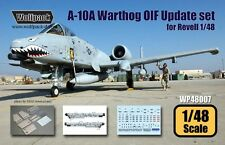 Wolfpack 1:48 A-10A Warthog OIF Update Set for Revell Kit -Resin Detail #WP48007