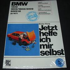 Reparaturanleitung BMW 1502 1602 1802 2002 2002 tii Typ 114 E6 E10 E20 ab 1971