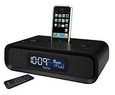 IHOME IPOD STEREO ALARM HIDDEN CAMERA DVR DOCKING STATION
