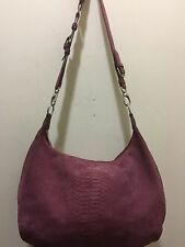 Berge  Shoulder Bag Tote Shopper Suede Made in Italy