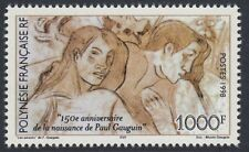 FRENCH POLYNESIA :1998 150th Anniversary of the Birth of Paul Gaugin  SG824 MNH