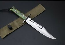 13''New ABS handle 3Cr15Mov Blade camping Outdoor Hunting Knife SF22
