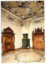 Heidelberg Castle Living Room Postcard Germany Kachelofen Kostbare Turgewande