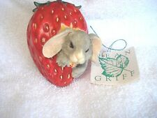 Charming Tails by Dean Griff Binkey in the Berry Patch NIB Signed by Dean Griff