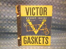 1935-1955 Victor Gasket Catalog GM Ford Chrysler Packard Continental Hercules