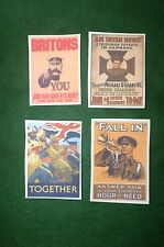 1/6 WW2 custom British diorama kitbash posters lot
