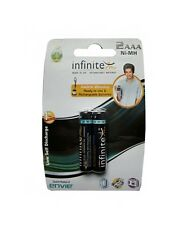 100% Original Envie Infinite Rechargeable Ready to Use Battery 2x AAA 1100 Ni-MH