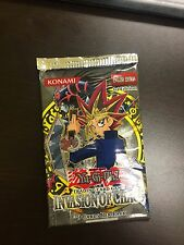Yu-gi-oh Invasion Of Chaos 1st Edition Booster Pack