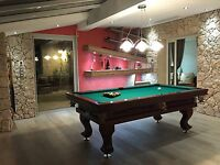 Billard DIJON 8 ft Billardtisch Billiard Pool Poolbillard - eigenes Design!