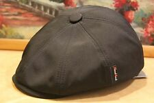 New newsboy hat Made in Russia 50% Cotton Black cap summer Italian Russian