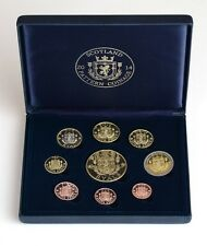 NEW 2014 SCOTTISH PATTERN COIN SET NEW CURRENCY THE RYAL LIMITED EDITION SET