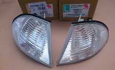 BMW E46 SALOON 98-01 TOURING 98-01 FRONT CLEAR INDICATORS REPEATER PAIR