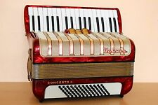 Accordion Hohner Concerto II 72 bass Akkordeon Fisarmonica + Case Free Shipping!