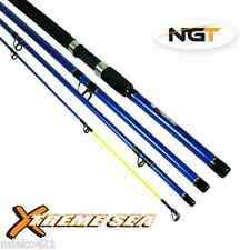 NGT Xtreme Sea 9ft 4pc Fibreglass Travel Fishing Rod x1