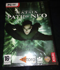 THE MATRIX PATH OF NEO PC Nuevo PAL Español Precintado Shiny Entertainment RARO