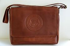 GENUINE WHITE HOUSE PRESIDENTIAL SEAL LEATHER BRIEFCASE~ HIGHEST QUALITY LEATHER