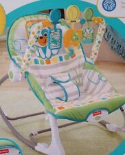 NEW FISHER PRICE INFANT-TO-TODDLER ROCKER CONVERTS EASILY -- ITEM 3527