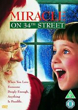 MIRACLE ON THE 34TH STREET CHRISTMAS MOVIE FILM DVD of Richard Attenborough NEW