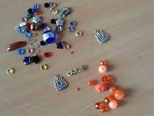 loose beads for jewellery making colorful glass and plastic beads and charms UK