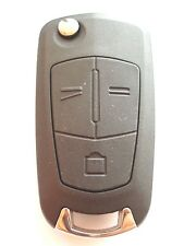 Replacement 3 button flip key case for Vauxhall Opel Vectra Signum Zafira remote