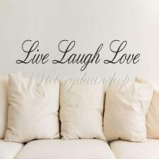 "16Color ""Live Laugh Love"" Wall Sticker Decal Removable Art Decor Home Quote Gift"