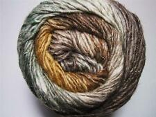 Noro Silk Garden Yarn Mohair Wool Brown Cream Green Per Skein 359 F