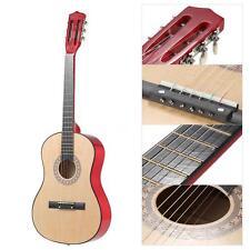 """38"""" 6-String Folk Acoustic Guitar for Music Lovers Child Gift Sandal wood T9G9"""