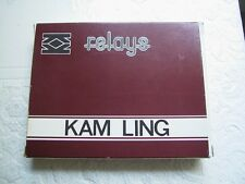 3 Relais - KAM LING - COIL DC 12 V - Made in Hongkong - Miniature Relay - Mini -
