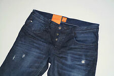 NEU - Hugo Boss Orange 24 Milano - W33 L32 - Used Denim Jeans  Regular Fit 33/32