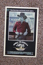 Urban Cowboy #2 Lobby Card Movie Poster John Travolta