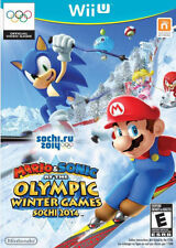 Mario & Sonic at the Sochi 2014 Olympic Winter Games Nintendo Wii U Game+Case